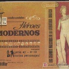 Tebeos: HEROES MODERNOS SERIE C Nº 13. BIBLIOTECA ETERNA. DOLAR.. Lote 19203921