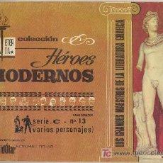 Tebeos: HEROES MODERNOS SERIE C Nº 13. BIBLIOTECA ETERNA. DOLAR.. Lote 19203971