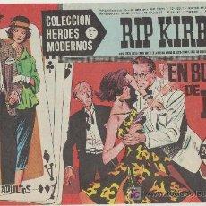 Tebeos: HEROES MODERNOS SERIE C Nº 15. RIP KIRBY.. Lote 19227668