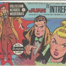 Tebeos: HEROES MODERNOS SERIE C Nº 12. JUAN EL INTRÉPIDO.. Lote 19227704