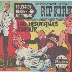 Tebeos: HEROES MODERNOS SERIE C Nº 5. RIP KIRBY.. Lote 19227833