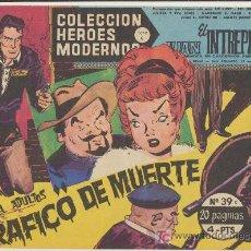 Tebeos: HEROES MODERNOS SERIE C Nº 39. JUAN EL INTRÉPIDO.. Lote 19227935
