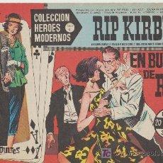 Tebeos: HEROES MODERNOS SERIE C Nº 15. RIP KIRBY.. Lote 19228586
