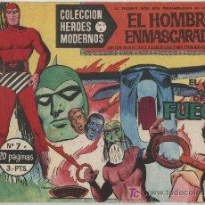 BDs: EL HOMBRE ENMASCARADO SERIE A Nº 7. HEROES MODERNOS. DOLAR.. Lote 20103251