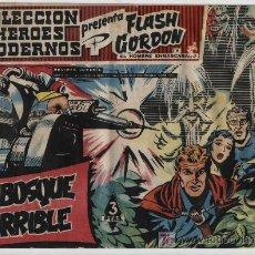 Tebeos: FLASH GORDON Nº 47. HÉROES MODERNOS. SERIE FLASH GORDON Y EL HOMBRE ENMASCARADO. DOLAR.. Lote 20106629