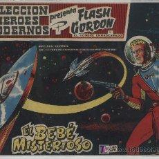 Tebeos: FLASH GORDON Nº 21. HÉROES MODERNOS. SERIE FLASH GORDON Y EL HOMBRE ENMASCARADO. DOLAR.. Lote 20112601