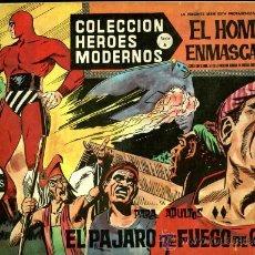 Tebeos: EL HOMBRE ENMASCARADO - Nº 18 - SERIE A - COLECCION HEROES MODERNOS - DOLAR. Lote 262996965