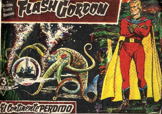 FLASH GORDON HEROES MODERNOS - EDIT. DOLAR NºS 1 AL 60 - ENCUADERNADOS (Tebeos y Comics - Dólar)