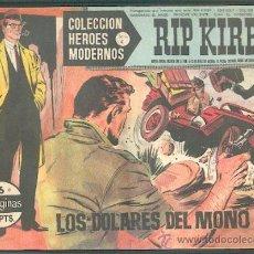Tebeos: COLECCIÓN HEROES MODERNOS SERIE C, Nº 6,EDITORIAL DÓLAR. Lote 21274811