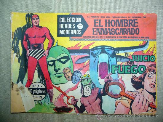 comic, el hombre enmascarado, el juicio del fue - Comprar Tebeos ...