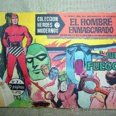 Tebeos: COMIC, EL HOMBRE ENMASCARADO, EL JUICIO DEL FUEGO, ORIGINAL, DOLAR, Nº 7, SERIE A. Lote 245010405