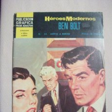 Tebeos: HEROES MODERNOS BEN BOLT. Lote 26485559