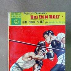 Tebeos: COMIC, DOLAR, ORIGINAL, BIG BEN BOLT, HIJO CONTRA PADRE, Nº 6, 1959, SERIE VERDE. Lote 25090156