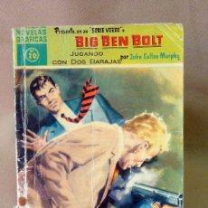 Tebeos: COMIC, DOLAR, ORIGINAL, BIG BEN BOLT, JUGANDO CON DOS BARAJAS, Nº 20, 1959, SERIE VERDE. Lote 25090328