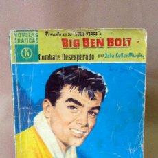 Tebeos: COMIC, DOLAR, ORIGINAL, BIG BEN BOLT, COMBATE DESESPERADO, Nº 19, 1959, SERIE VERDE. Lote 25090373