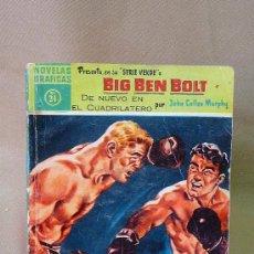 Tebeos: COMIC, DOLAR, ORIGINAL, BIG BEN BOLT, DE NUEVO EN EL CUADRILATERO, Nº 24, 1959, SERIE VERDE. Lote 49121526