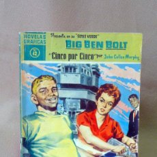 Tebeos: COMIC, DOLAR, ORIGINAL, BIG BEN BOLT, CINCO POR CINCO, Nº 42, 1959, SERIE VERDE. Lote 25090463