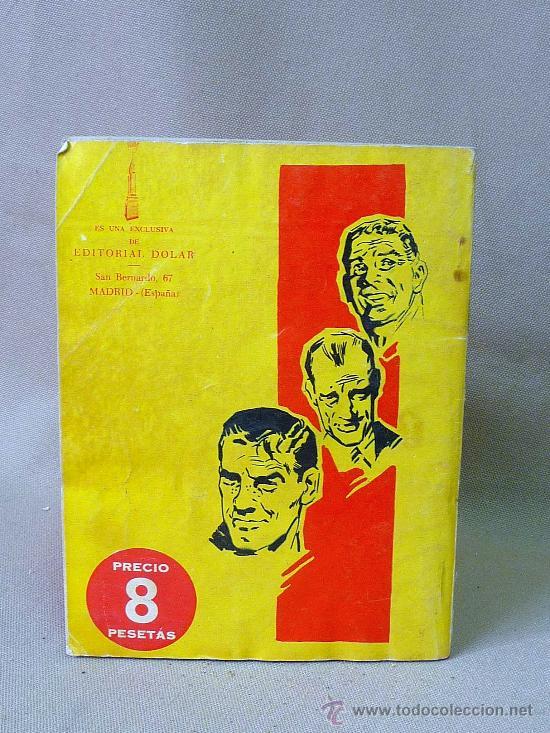 Tebeos: COMIC, DOLAR, ORIGINAL, BIG BEN BOLT, CINCO POR CINCO, Nº 42, 1959, SERIE VERDE - Foto 2 - 25090463