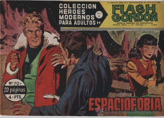 FLASH GORDON. SERIE B. Nº 70. DOLAR. (Tebeos y Comics - Dólar)