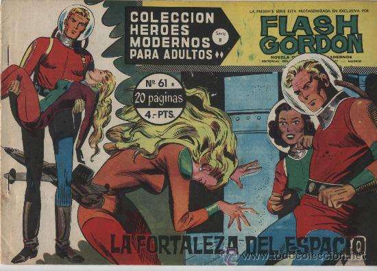 FLASH GORDON. SERIE B. Nº 61. DOLAR. (Tebeos y Comics - Dólar)