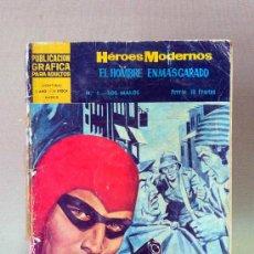 Tebeos: COMIC, NOVELA GRAFICAPARA ADULTOS, HEROES MODERNOS, EL HOMBRE ENMASCARADO, Nº 1, DOLAR. Lote 26562320