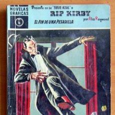 Tebeos: RIP KIRBY Nº 6 - SERIE AZUL - EDITORIAL DÓLAR 1959. Lote 26683246