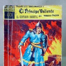 Tebeos: COMIC, EL PRINCIPE VALIENTE, Nº 35, EL CENTURION INMORTAL, SERIE AMARILLA, EDITORIAL DOLAR, NOVELAS . Lote 27049365