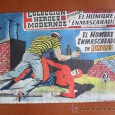 Tebeos: COLECCION HEROES MODERNOS -- EL HOMBRE ENMASCARADO Y FLASH GORDON Nº 11 - EN LONDRES. Lote 28178836
