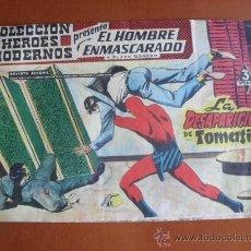 Tebeos: COLECCION HEROES MODERNOS -- EL HOMBRE ENMASCARADO Y FLASH GORDON Nº 12 - LA DESAPARICIÓN DE TOMASIN. Lote 28178860