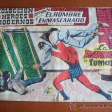 Tebeos: COLECCION HEROES MODERNOS -- EL HOMBRE ENMASCARADO Y FLASH GORDON Nº 12 - LA DESAPARICIÓN DE TOMASIN. Lote 28178876