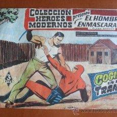 Livros de Banda Desenhada: COLECCION HEROES MODERNOS -- EL HOMBRE ENMASCARADO Y FLASH GORDON Nº 17 - COGIDO EN LA TRAMPA. Lote 28178935