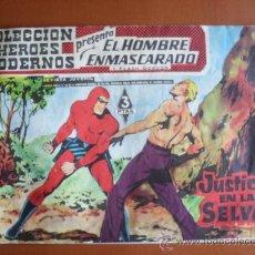 Tebeos: COLECCION HEROES MODERNOS -- EL HOMBRE ENMASCARADO Y FLASH GORDON Nº 26 - JUSTICIA EN LA SELVA. Lote 28178953