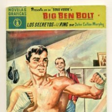 Tebeos: NOVELAS GRAFICAS SERIE AMARILLA - BIG BEN BOLT Nº 8 - JOHN CULLEN. Lote 28288634