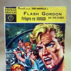 Tebeos: COMIC, FLASH GORDON, PELIGRO EN MONGO, SERIE AMARILLA, DOLAR, Nº 7, 1959. Lote 28383940