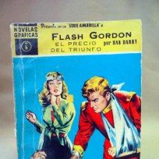 Tebeos: COMIC, FLASH GORDON, EL PRECIO DEL TRIUNFO, SERIE AMARILLA, DOLAR, Nº 6, 1959. Lote 28383967