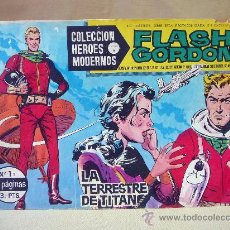 Tebeos: COMIC, FLASH GORDON, LA TERRESTRE DE TITAN, COLECCION HEROES MODERNOS, SERIE B, Nº 1, DOLAR. Lote 28410742