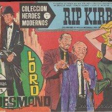 Tebeos: HEROES MODERNOS.SERIE C Nº 10. RIP KIRBY.. Lote 28818848