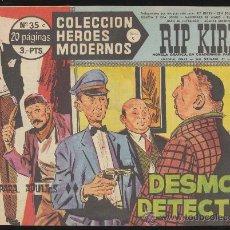 Tebeos: HEROES MODERNOS.SERIE C Nº 35. RIP KIRBY.. Lote 28819460