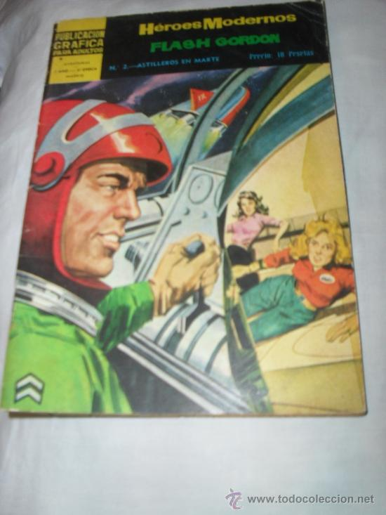 FLASH GORDON HEROES MODERNOS COMICS DOLAR 1959 (Tebeos y Comics - Dólar)