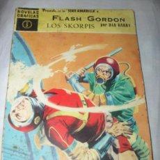 Tebeos: FLASH GORDON SERIE AMARILLA Nº 5 LOS SKORPIS COMICS DOLAR 1959. Lote 29000719