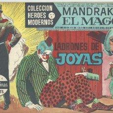 Tebeos: MANDRAKE EL MAGO (LOTE DE 9 NUMEROS). Lote 29011331