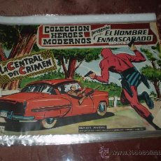 Tebeos: HEROES MODERNOS. EL HOMBRE ENMASCARADO Nº 34. DOLAR. Lote 29800749