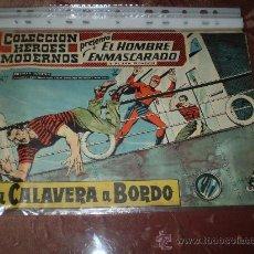 Tebeos: HEROES MODERNOS. EL HOMBRE ENMASCARADO Nº 55. DOLAR. Lote 29800957