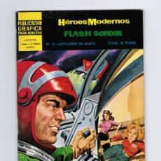 Tebeos: HÉROES MODERNOS - FLASH GORDON Nº 2 - EDITORIAL DOLAR. Lote 30290708