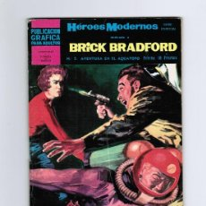 Tebeos: HÉROES MODERNOS - BRICK BRADFORD Nº 5 - EDITORIAL DOLAR . Lote 30290802
