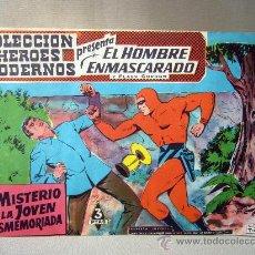 Tebeos: COMIC, EL HOMBRE ENMASCARADO, COLECCION HEROES MODERNOS, LE MISTERIO DE LA JOVEN DESMEMORIADA, Nº 22. Lote 30714560