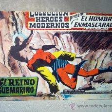 Tebeos: COMIC, EL HOMBRE ENMASCARADO Y FLASH GORDON, HEROES MODERNOS, EL REINO SUBMARINO, Nº 3, ORIGINAL. Lote 30715601