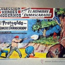 Tebeos: COMIC, EL HOMBRE ENMASCARADO, COLECCION HEROES MODERNOS, EL PROTEGIDO, Nº 10, ORIGINAL. Lote 30718596