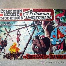 Tebeos: COMIC, EL HOMBRE ENMASCARADO, COLECCION HEROES MODERNOS, LOS BUSCADORES DE DIAMANTES, Nº8, ORIGINAL. Lote 30718714