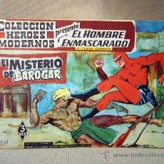 Tebeos: COMIC, EL HOMBRE ENMASCARADO, COLECCION HEROES MODERNOS, EL MISTERIO DE BAROGAR, Nº 14, ORIGINAL,. Lote 30718796